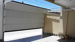 Portões seccionados para garagem